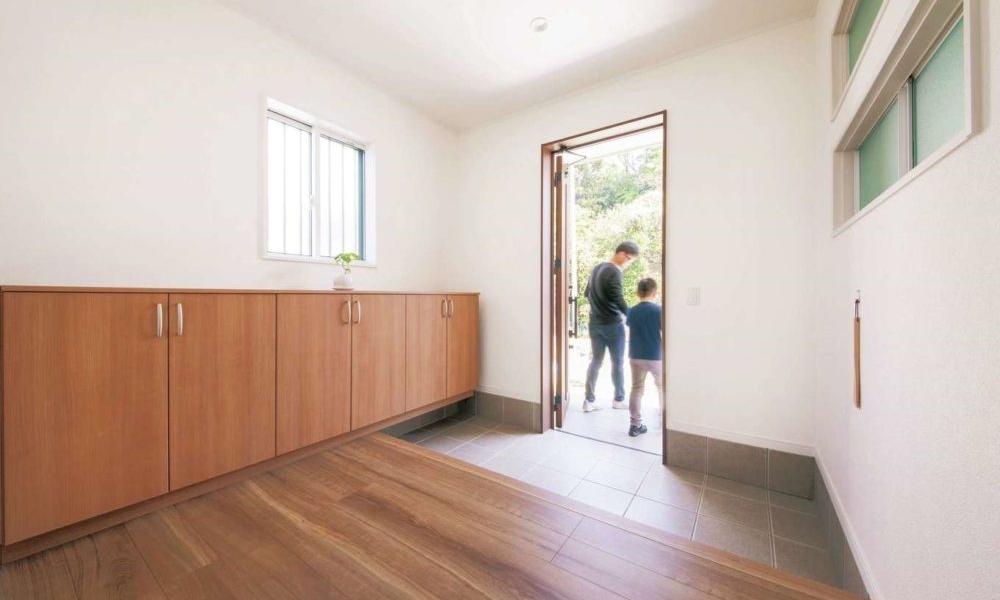 収納・動線を考えた家づくり、ミニマルライフの平屋の家