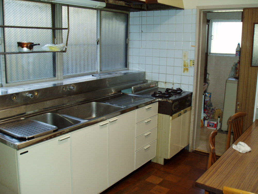昔のキッチン