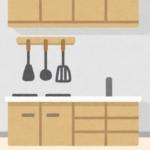 キッチンのイラスト